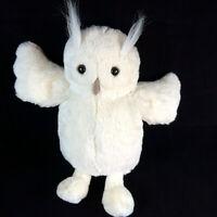 JELLYCAT Bashful White Horned Owl Woodland Plush Soft Toy Bird Comforter 12 inch