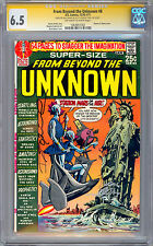 FROM BEYOND THE UNKNOWN #8 CGC-SS 6.5 *SIGNED BY NEAL ADAMS & DENNY O'NEIL* 1970