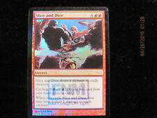 4xMTG Magic the Gathering Promo DCI FNM Sorcery SLICE AND DICE Rare Foil