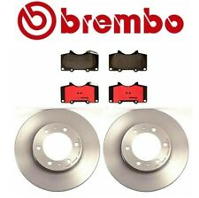 "Brembo Front Brake Kit Disc Rotors Ceramic Pads for Toyota 4Runner 16"" Wheels"