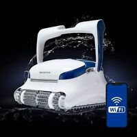 NEW Dolphin Sigma Robotic Pool Cleaner with Wi-Fi App and Top-Loading Cartridge