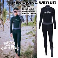 Mens Full Body Wetsuit Diving Boarding Snorkeling Surfing Scuba Suit  *## + #