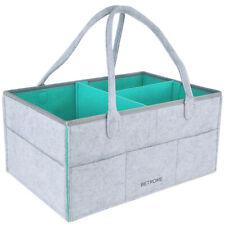 Baby Diaper Caddy Organizer Basket Wipes Bag Newborns Infant Nursery Storage Bin