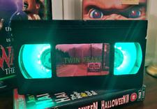 Twin Peaks VHS Night Light, Desk Lamp, Led, Film, Horror, Bedroom Lamp, Kids