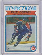 1982-83 OPC O-Pee-Chee Paul Coffey In Action #102 (2nd Year) Near Mint Oilers