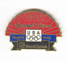 1998 NAGANO JAPAN WINTER OLYMPIC GAMES MERRILL LYNCH SPECIAL GUEST PIN