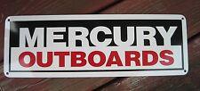 Mercury Marine Outboard Motor Sign Fishing Bass Boat