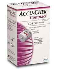 Accu Chek COMPACT Blood Glucose Monitoring ROCHE 1 boxes 51Test Strips Apr-2018