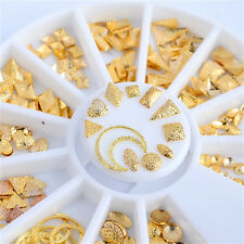 Fashion Hollow Halloween 3D Rhinestone Nail Art Alloy Sticker Decoration Tips