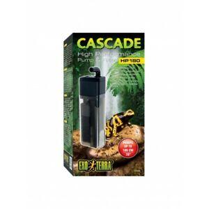 Exo Terra Cascade High Performance Waterfall Pump & Filter HP180 Frog Terrariums