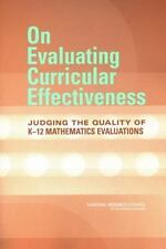 On Evaluating Curricular Effectiveness: Judging the Quality of K-12 Mathematics