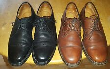 Allen Edmonds Becker Mens CapToe Brown Black Leather Oxford Dress Shoes. Sz 9.5E