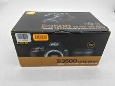 Open Box Nikon D3500 24.2MP with 18-55mm VR Lens Kit DSLR Camera -JT0371