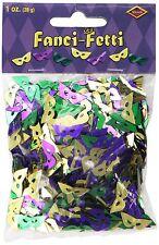 Fanci-Fetti Mardi Gras Masks Table Decoration