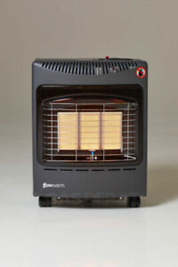 [USED/DENTED]Mini Glow Warm Cabinet Indoor Portable Gas Heater 4.1KW