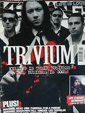 KERRANG 1153 - TRIVIUM/MY CHEMICAL ROMANCE/HIM/LINKIN PARK/TYPE O NEGATIVE
