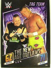 Topps Slam Attax Universe WWE individuels pour cartes choisir à partir de nº 251 partie 2