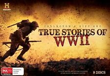 True Stories Of WWII (DVD, 2014, 8-Disc Set) - Region 4