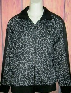 MENS PUMA WILD CHEETAH LEOPARD ANIMAL PRINT TRACK JACKET SIZE S