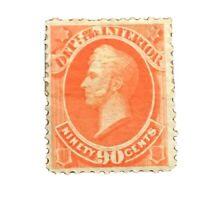 US Official Stamp # O24 M OG H $325