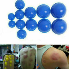 Massage Cupping Suction Cup Set Device Silicone Vacuum Cups Spa Therapy Supplies