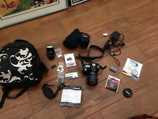 NIKON D90 N16184 3508574 CAMERA WITH 2 LENSES