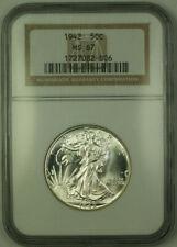 1942 Walking Liberty Half Dollar 50c Silver Coin NGC MS-67 *Better Coin* JAB
