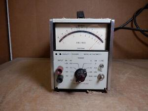 HP 400GL AC VOLTMETER