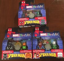 Marvel Minimates COMPLETE SET Spider-Man Spiderman Wave 25 Toys R Us EXCLUSIVE