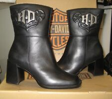 Harley-Davidson Women's Insignia Boot Black Size 5.5 M NEW
