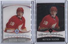 16/17 UD ULTIMATE INTRODUCTIONS ACETATE REGULAR AND BLACK MATTHEW TKACHUK /25