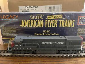 American Flyer 6-48146 S Scale Southern Pacific U33C Diesel Locomotive