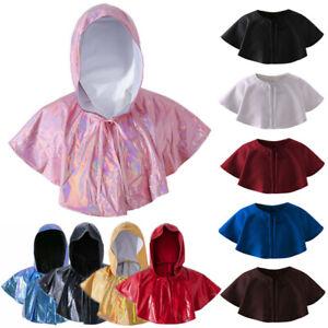 Medieval Renaissance Capelet Larp Mantle Hat Short Cloak Hat Halloween Costume