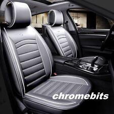 Renault Clio Captur Twingo Kadjar Scenic Deluxe Grey PU Leather Seat Covers