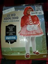 Little Red Riding Hood Costume for Babies, no cape New!