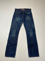 LEVI'S 506 STRAIGHT Jeans - W31 L34 - Navy - Great Condition - Men's