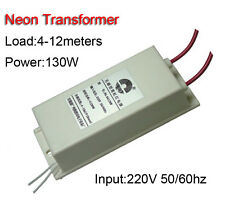 Neon Electronic Transformer DC12Kv130W30mA No Inductance Power Supply Ballast
