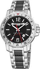 Raymond Weil Men's Nabucco GMT 44mm Steel Case Automatic Watch 3800-scf05207