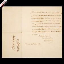 1751 Royal Polish King Signed Stanisław Leszczyński Autograph Signature Document