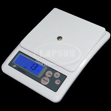 Precision 3kg/0.1g Digital LCD Electronic Kitchen Weight Food Diet Scale Adapter