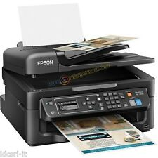 STAMPANTE EPSON WORKFORCE WF-2630WF 4 in 1 - WIFI FAX SCANSIONE T1631 UFFICIO