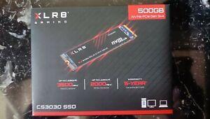 SSD NVMe M2 - PNY CS 3030 - 500 Gb Hard Drive