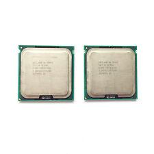 2pcs Intel Xeon X5482 3.2GHz 12M 1600M Quad-Core SLBBG Processor Socket 771 CPU