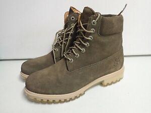 Timberland Men's Green 400 Gram Primaloft Leather Boots Size 9
