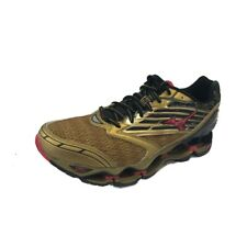 Mizuno Wave Prophecy 5 Mens Gold / Black / Red US9