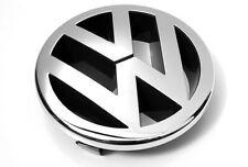 Original VW Caddy Golf 5 Polo Zeichen Emblem vorn Kühlergrill Logo chrom OEM