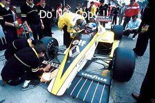 Patrick Tambay Renault RE60 San Marino Grand Prix 1985 Photograph 2