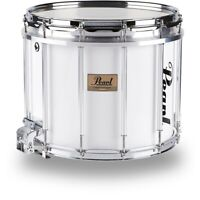 Pearl Competitor High-Tension Marching Snare Drum White 14 x 12 in. LN