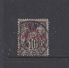"FRENCH MOROCCO - 3a - USED-TY I - 1891 -""10 CENTIMOS"" O/P ON PEACE AND COMMERCE"