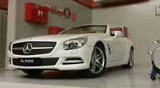 G LGB 1:24 ECHELLE MERCEDES SL500 2012 24041 détaillé Welly voiture miniature